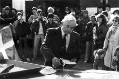 Oluf Andersen døber LUF i 1982