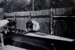 Bådene tørres også grundigt af i 1947