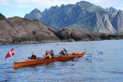 I 2016 var KAL (fra 1995) på langtur med DFfR ved Lofoten.