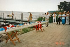 Klaus Andersen døber PIP 1998