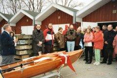 Klaus Andersen døber PUK 1997.