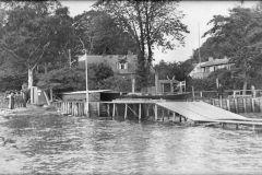 Den faste bådebro ved Penalhuset