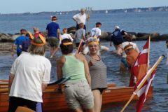 2007 Alternativ dåb: Roerne kom til Kong Neptun i Struckmannsparken