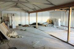 2012 – ombygning af en sektion bådehal og omklædningsrummene.