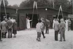 Tilbygningen i 1953 blev indviet 26. september