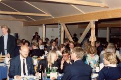 Indvielsesmiddag i bådehallen.  Bl.a. Svend Sylvander og Leif Andersen.