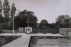 Klubhuset efter indvielsen 1953